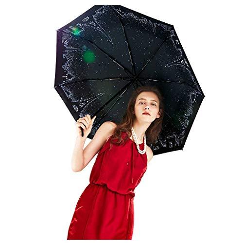 Sonnenschirm Regenschirm Anti-UV Weibliche Kreative Ultraleichte Mini Sonnencreme Regen Dual-use-Fünf Falten Regenschirm Mode Sonnencreme Original Design