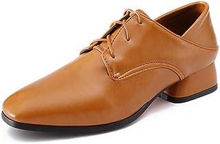 BalaMasa Womens APL12063 Pu Block Heels