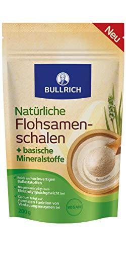 Bullrich Flohsamenschalen + basische Mineralstoffe, 200 g