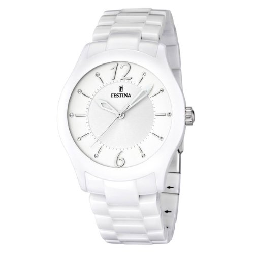 Festina Unisex Analog Quarz Uhr mit Keramik Armband F16638/1