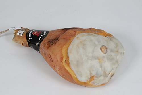 CANTALUPPI - Jamón de Parma con el hueso (10 kg aprox.) - Producto Artesanal Italiano