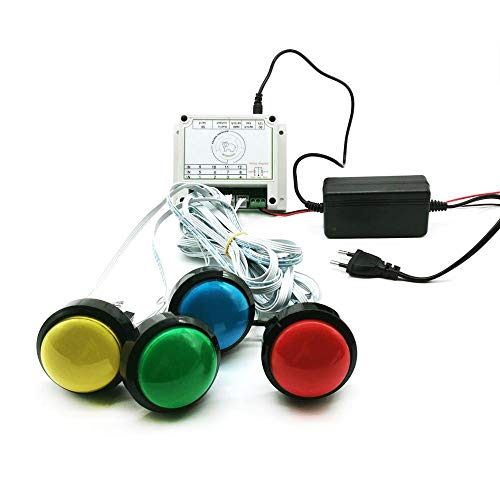 Bearhoho Escape Room Prop Colorful Buttons Props Light up The Buttons...