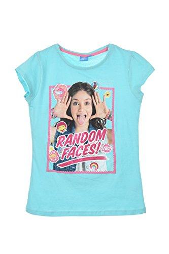 Soy Luna - Camiseta de manga corta para niña azul 6 años