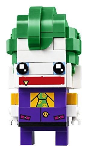 LEGO Brickheadz - The Joker, Figura de Juguete del Villano Enemigo de Batman (41588) 4