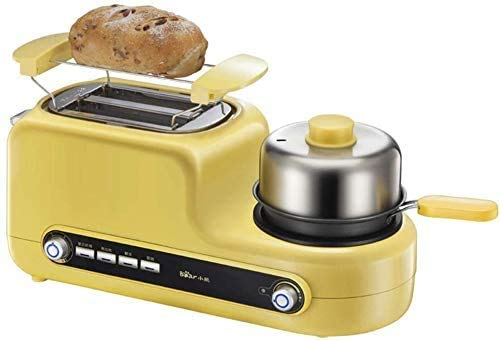 Cheapest Price! 3-in-1 Breakfast Station Machine Center Retro Family Electric 2 Slice Toaster Maker ...