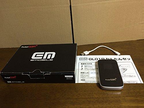 【白ロム】 Emboile Pocket WiFi GL01P ホワイト 【未使用品】