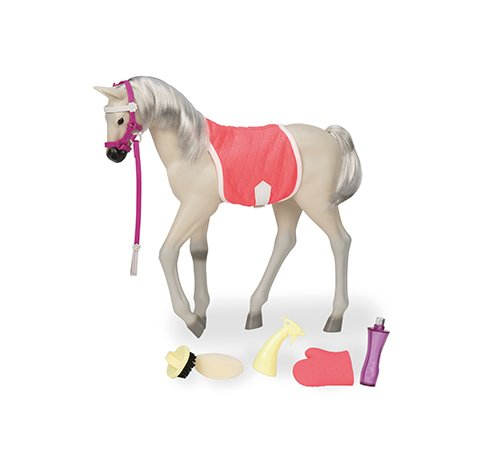 Our Generation 44552 Spotted Mustang Foal, Beige