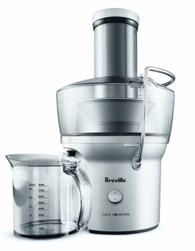 Breville BJE200XL Compact Juice Fountain 700-Watt Juice...