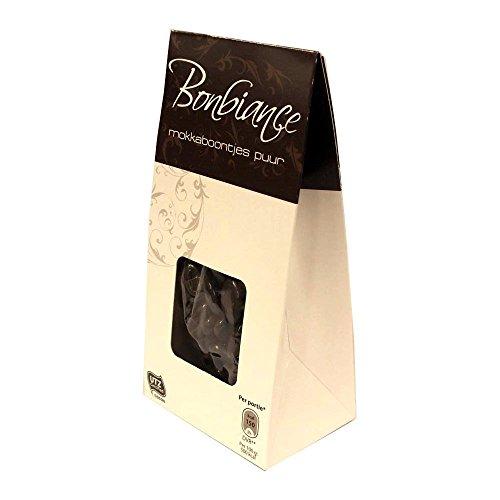 Bonbiance mokkaboontjes puur 125g Box (Mokkabohnen in Zartbitterschokolade)