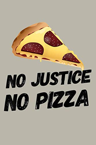 Justice And Pizza: Notebook Planner - 6x9 inch Daily Planner Journal, To Do List Notebook, Daily Organizer, 114 Pages