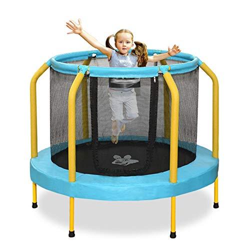 YUMO 2021 Trampolín para niños, colchoneta de Salto y Cubierta de Muelle del Marco, trampolín Redondo de Interior/Exterior para el Entrenamiento de Actividades Deportivas de los niños