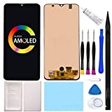ZTOOYO Super AMOLED 6.4' Display a50 lcd screen replacement kit For Samsung Galaxy A50 A505 A505F/DS A505FD A505F A505A A50S A507 SM-A507FN/DS A507F/DS LCD Display Touch Screen Digitizer Glass Assembly with tools black(surpport fingerprint)