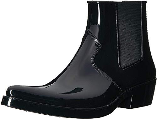 CK Jeans Men's Cole Ankle Boot, Black Rubber, 12 M US