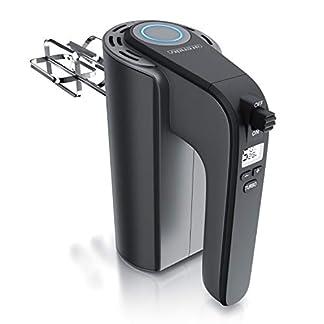 Arendo-Elektrischer-Handmixer–Handruehrer-mit-5-Geschwindigkeiten-inkl-Turbofunktion-Edelstahl-Soft-Touch-Gehaeuse–Hakenentriegelung–Turbotaste-GS