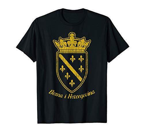 Bosnien Wappen T-Shirt