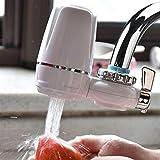 Filtre brita Purificateur d'eau du robinet Robinet de cuisine Lavable En Céramique Percolateur Mini Filtre À Eau Enlèvement De Bactéries JDH99 brita (Color : Water Purifier)