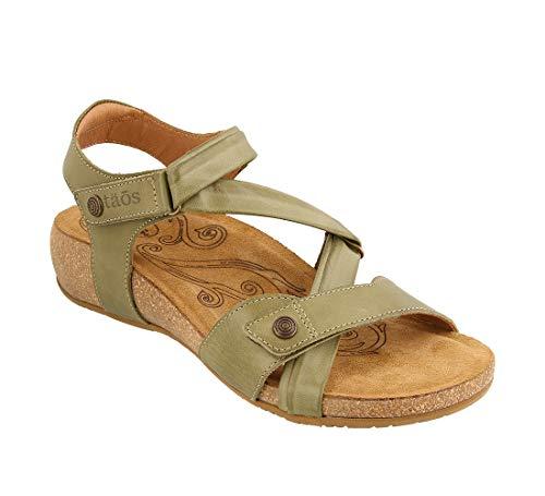 [Taos] Footwear レディース ユニバースサンダル US サイズ: 6 カラー: グリーン