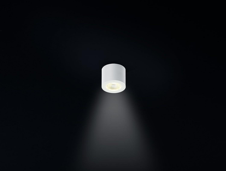 Helestra LED Deckenleuchte Oso Mattwei IP44  LEDs fest verbaut 5W 310lm warmwei  15 1553.07