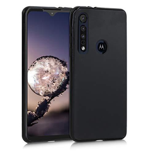 kwmobile Hülle kompatibel mit Motorola One Macro - Hülle Handyhülle - Handy Hülle in Schwarz matt