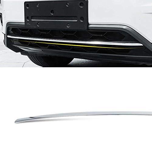 Front Bumper Trim Strip, roestvrij staal, Spiegel Reflecterende Process, Geschikt voor 2017-2019 Volkswagen Tiguan L,C1