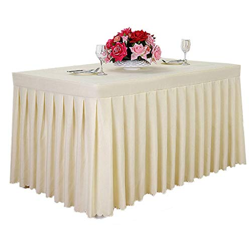 Mantel Rectangular Mantel 100% poliéster para Mesa Interior y Exterior Cubierta sólida para Mesa de Cena para Banquete de Boda Restaurante Cafetería (Color: Azul, Tamaño: 120 * 60 * 75cm)