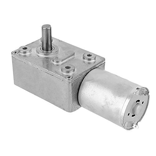 SDENSHI Motor de Engranajes de CC con Reducción de Engranajes Helicoidales Eléctricos...