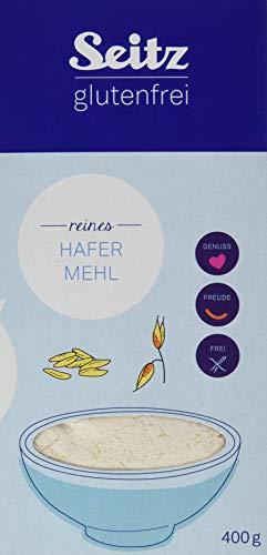 Seitz glutenfrei Hafer Mehl, 4er Pack (4 x 400 g)