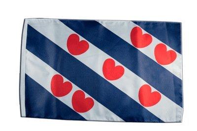 Flagge / Fahne Niederlande Friesland + gratis Sticker, Flaggenfritze®