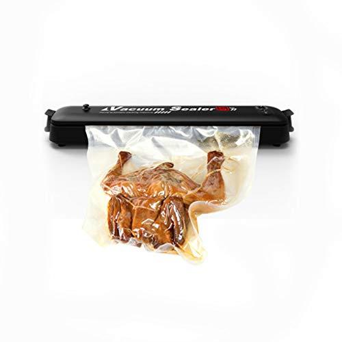 LLKK Máquina de Sellado,Conveniente máquina de Sellado,máquina de envasado al vacío de Alimentos,aspiradora automática doméstica pequeña máquina de Mantenimiento de Cocina portátil de plástico