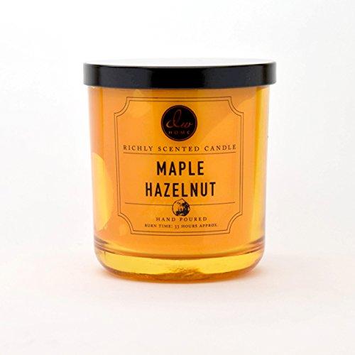 DW Home Medium Single Wick Candle, Maple Hazelnut Cream