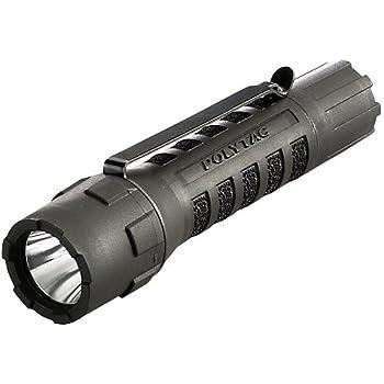Streamlight 88850 PolyTac LED Flashlight with Lithium Batteries, Black - 600 Lumens