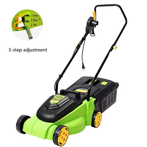 Handheld onkruid eter, Electric Grass Trimmer1600W krachtige elektrische Hand-Push Mower voor Boom Gazon Zorg Thuis Gardening