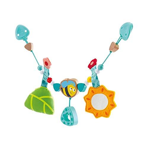 Hape E0021 - Kinderwagenkette 'Hummelchen', einfache Befestigung, mit Glocke, ab Geburt