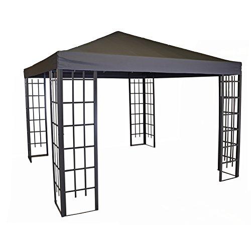 Lesli Living Pavillon Dach für Pavillon-Gestell Royal wasserabweisend 3x3m PA Coated grau
