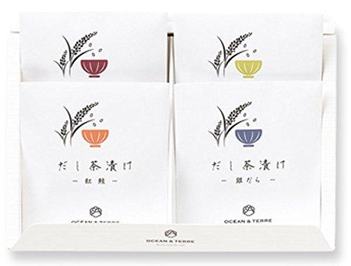 海鮮だし茶漬けセットL×1箱【北海道産真昆布と静岡県産抹茶使用】【結婚式 引出物 内祝い お茶漬けギフト インスタント レトルト 引菓子】