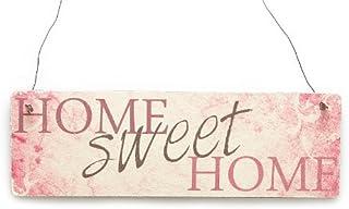 Blechschild Home sweet Home Bless our home Türschild Schild sign plaque zu Hause