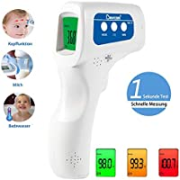 Berrcom No-Contact Infrared Multifunctional Forehead Thermometer with FDA and CE