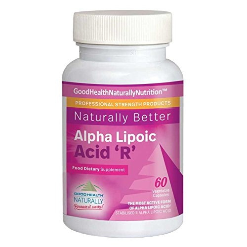 Good Health Naturally - Alpha Lipoic Acid R (Ácido alfa lipoico)