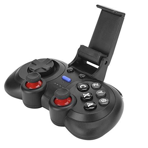 Controlador de Juegos inalámbrico para teléfono Inteligente, Joystick de Gamepad móvil, Mango de Juego con Clip de Soporte para teléfono de 6 Pulgadas, Joystick de Control de Gamepad inalámbrico