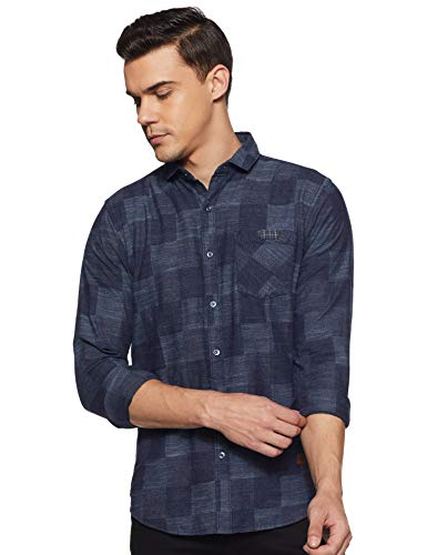Campus Sutra Checkered Cotton Casual Shirts -Ideal for Men