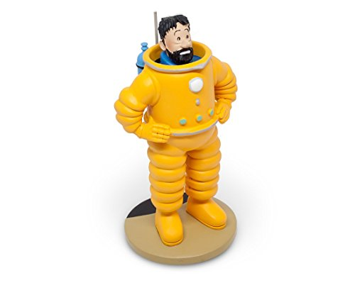 Moulinsart Figura de colección Tintín Haddock cosmonauta 15cm 42200 (2016)