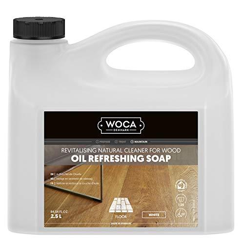 Woca Olie-refresher wit 2,5 liter voor wit geoliede parketvloeren en houten oppervlakken