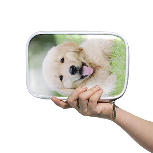 Large Stationary Box Puppy Pencil Case For Kids Makeup Pencil Case Multifunctional Cute Cosmetic Bag For Men Women