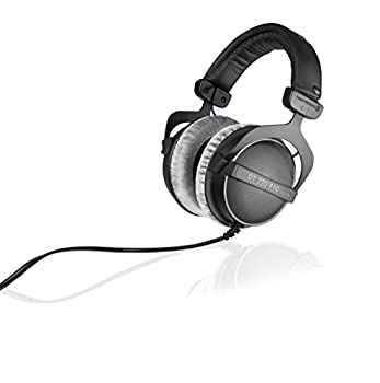beyerdynamic DT 770 PRO 250 Ohm Over-Ear Studio Headphones in Black Closed Construction Wired for Studio use Ideal for Mixing in The Studio