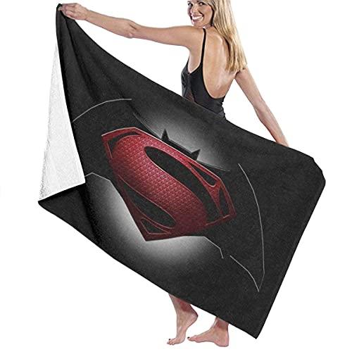 IUBBKI Super-Man Logo1 Toalla de baño súper Suave Natación Toalla de SPA Ducha Camping Yoga Toalla de Playa de Arena Tamaño Personalizado 31x51 Pulgadas