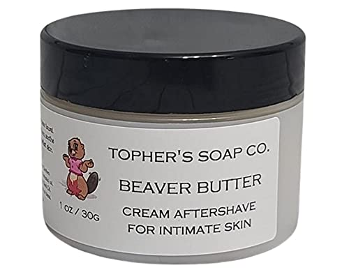 Topher's Soap Co. - Beaver Butter - Women's Intimate Aftershave Balm for soothing sensitive skin (1oz)