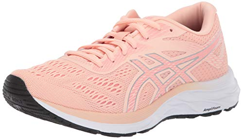 ASICS Women's Gel-Excite 6 Running Shoes, 7.5M, BAKEDPINK/Silver