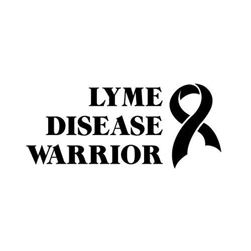PressFans - LYME Disease Warrior Cancer Awareness Car Laptop Sticker Decal