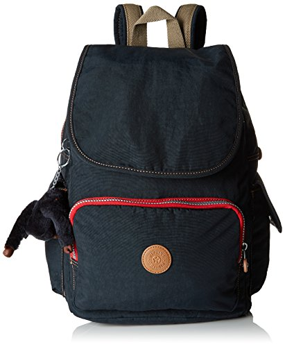 Kipling Damen City Pack Rucksack, Blau (True Navy C), 32x37x18.5 cm
