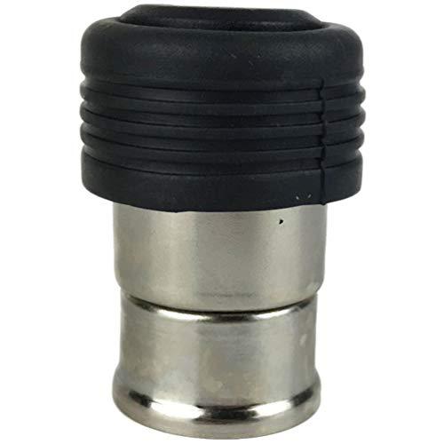 Wakauto Zigarettenanzünder USB-Ladegerät Metall 12V Mini-Autoladegerät Adapter USB-Autoladegerät Kompatibel für Vauxhal